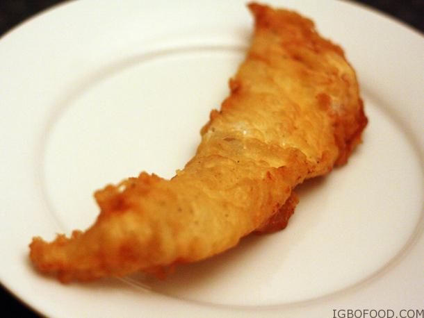Beer Battered Fish (small chops)