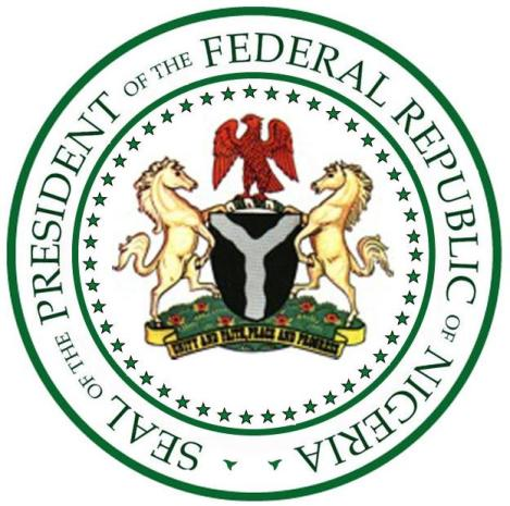 Image result for nigerian president seal photos