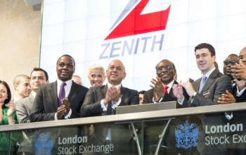 zenith bank stock price