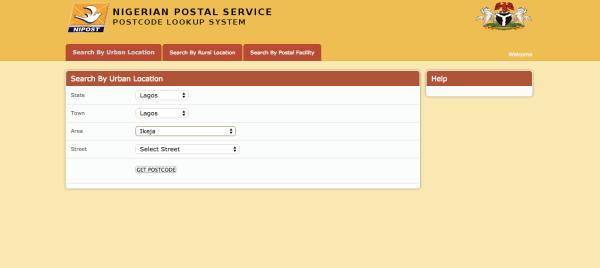 Nigeria post codes
