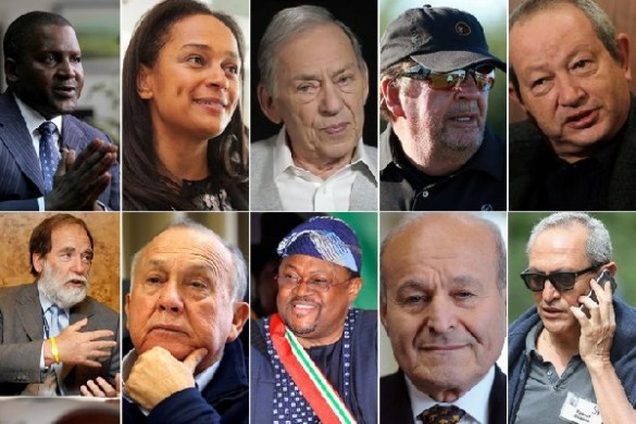 The 10 richest people in Africa
