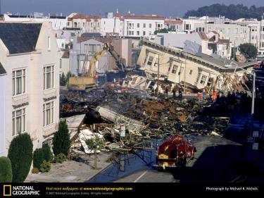 Only 63 people died in the earthquake that hit San Francisco on October 17, 1989