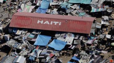 A 7.0 magnitude earthquake hit Haiti in 2010, almost turning it to mere rumbles