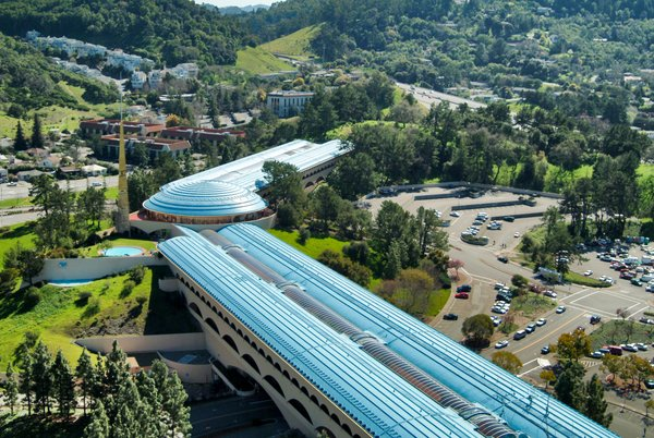 Marin County Civic Center in San Rafael, California