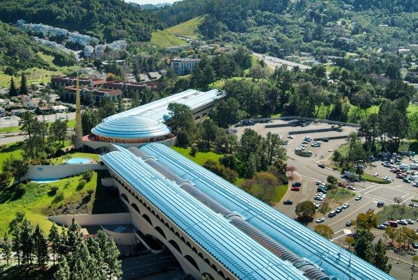Marin County Civic Center in San Rafael, California