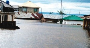 'Post-Flood Housing Estate illegally occupied by those not affected by the Kogi flood'