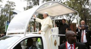Pope Francis presses case for adequate, dignified housing in Nairobi