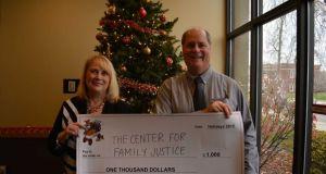 Verizon gives $1,000 grant to Bridgeport domestic violence shelter