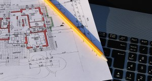 Electronic building plan