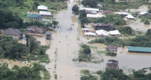 Flood overruns a community in Delta