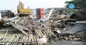 Lagos demolishes illegal structures, shanties in Lekki, Ikoyi, VI