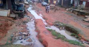 Residents of Shasha community in Lagos lament bad road, flood