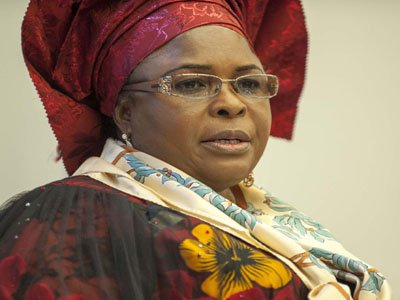 EFCC goes after Jonathan's wife's assets
