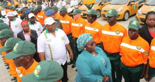 Ambode launches sanitation corps for a cleaner Lagos