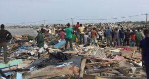 illegally demolishing their properties