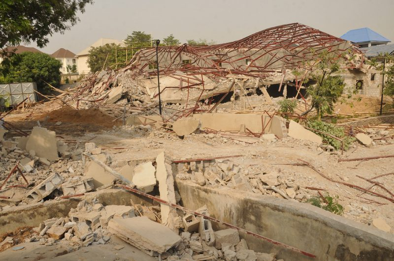 FCTA demolishes property belonging to Patience Jonathan in Abuja