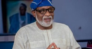 Gov. Rotimi Akeredolu budgets N15b for roads and rehabilitation