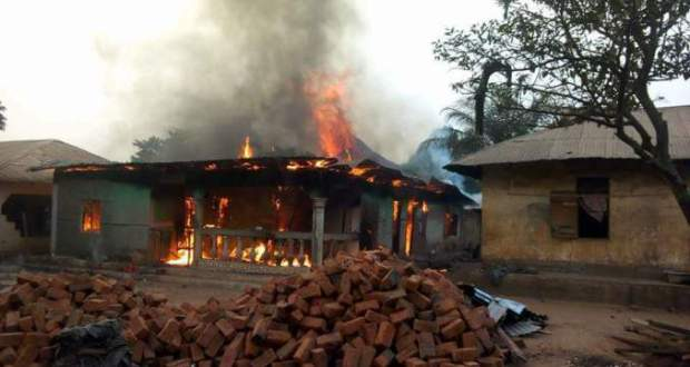 Fire razes down property worth millions of Naira in Cross River