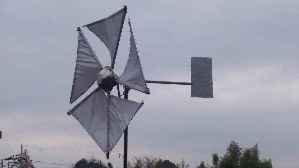 ハブダイナモ風力発電機 改良[セィルウィング]