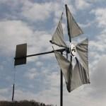 ハブダイナモ風力発電機[セィルウィング]