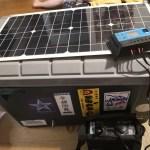 [作成指南]バイク旅に便利なポータブル電源とソーラー発電システム[SG-1000]