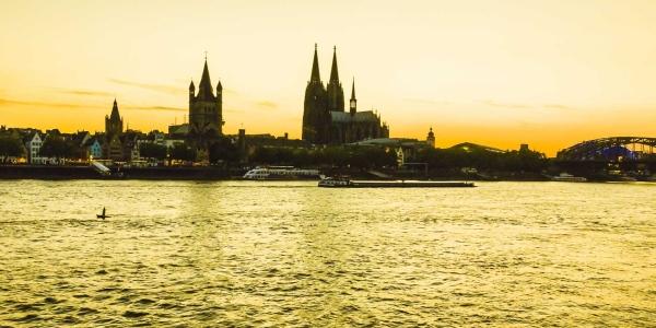 Altstadtpanorama Köln