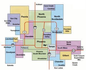 map-of-the-phoenix-metro-area