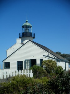 Lighthouse at Cabrillo (c) AB Raschke