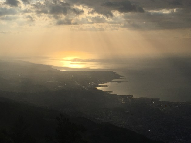 The view of Port-au-Prince from the Observatoire (c) ABR 2016