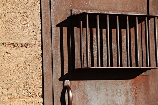 The Pearce jail (c) K. Arrington