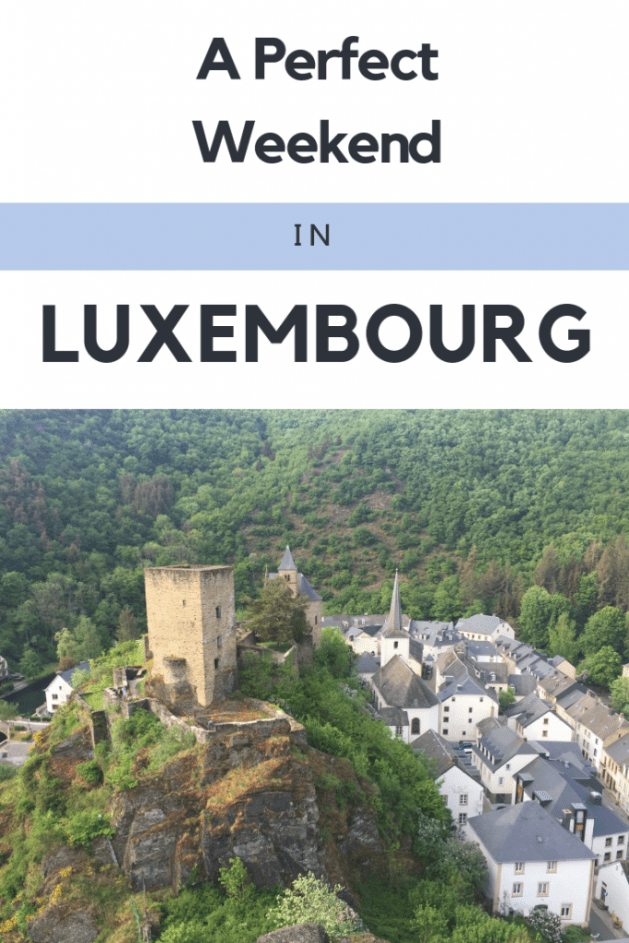 weekend in luxembourg