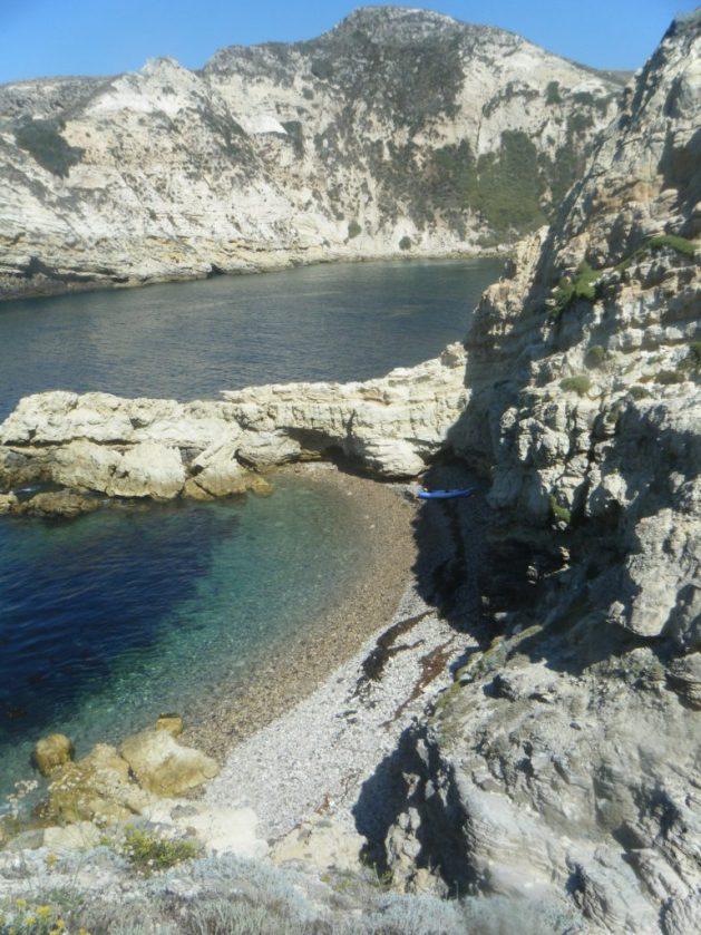 santa cruz island camping