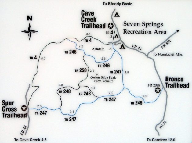 Seven Springs trails