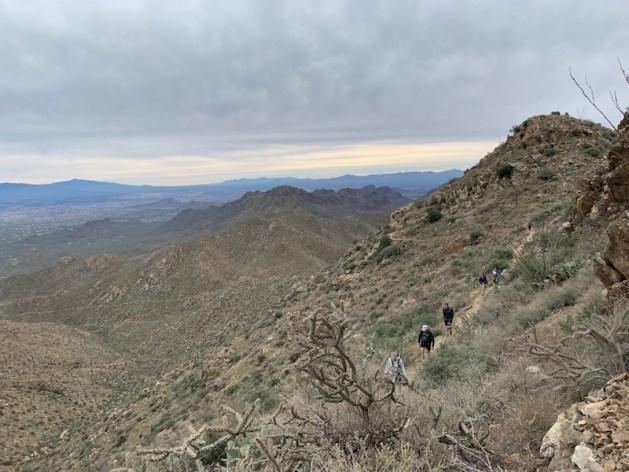 wasson peak trail
