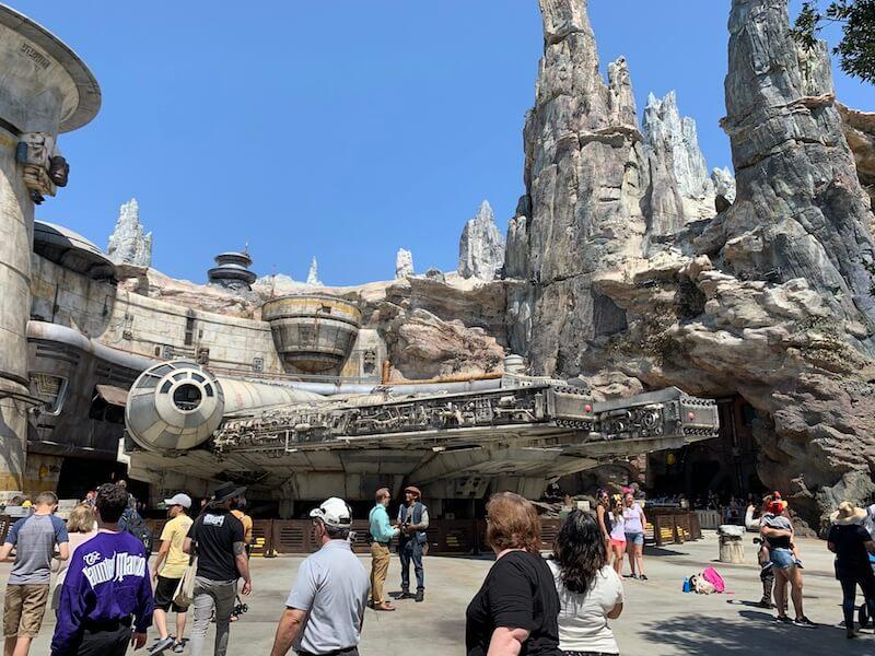 Disneylands galaxys edge