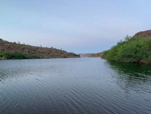 lake hikes near phoenix