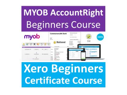 Xero Beginners & MYOB AccountRight Beginners Training Courses - Industry Accredited, Employer Endorsed - CTO