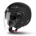 CITY ONE COLOR MATT BLACK HELMET