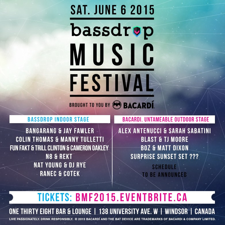 Bassdrop Music Festival 2015
