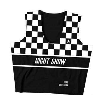 Night Show Crop Top