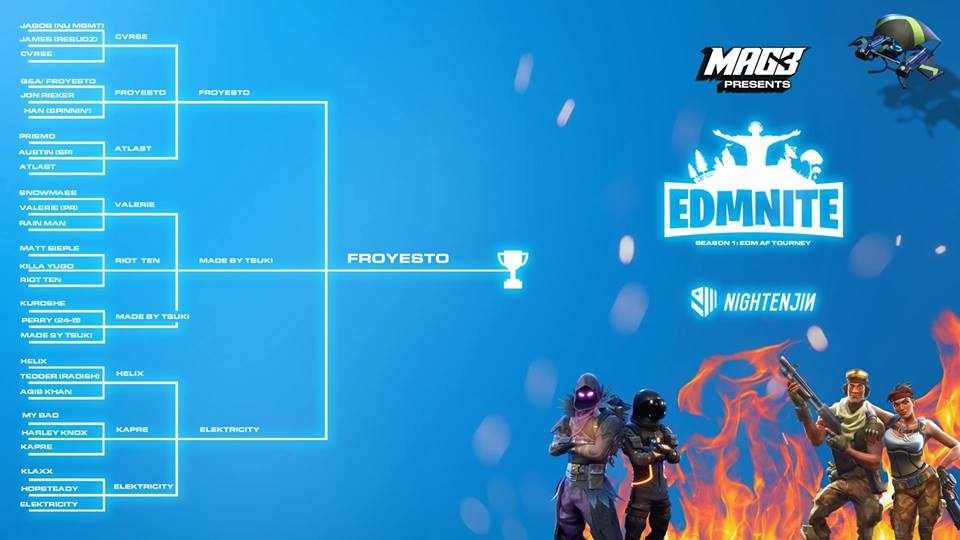 EDMNITE: Fortnite Tournament