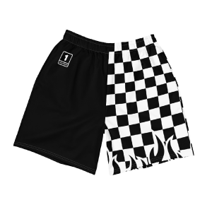 Stop Looking At My Booty Mens Athletic Swim Shorts