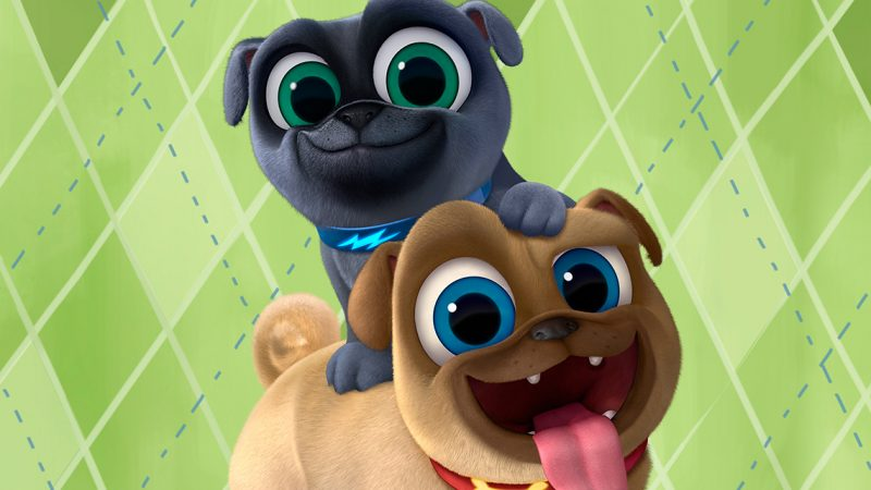 PUPPY DOG PALS Is Now Available On DVD And We Celebrated