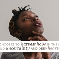 When Hard Times Harvest Hope [I'm A Guest Over at (in)courage Today!]