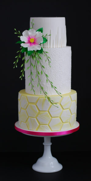 Spring Awakening Wedding Cake
