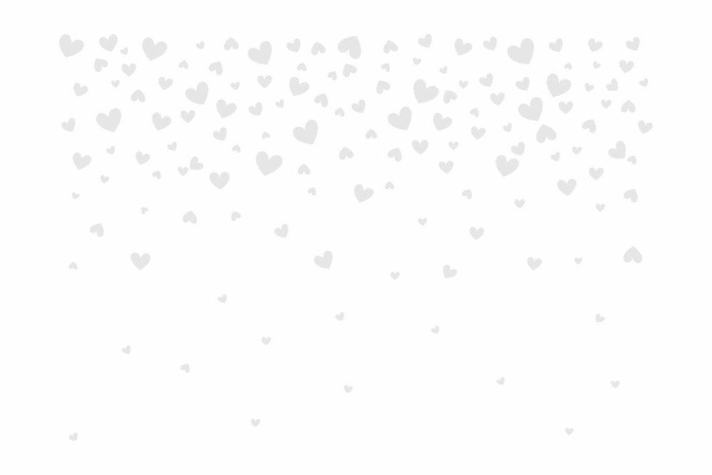 Heart Confetti Stencil