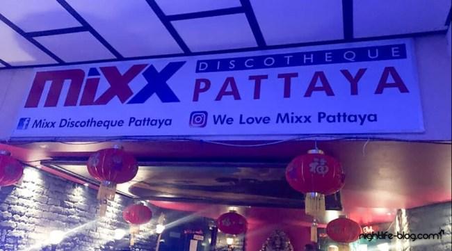 Pattaya Nightlife Mixx Night-Club Walking street