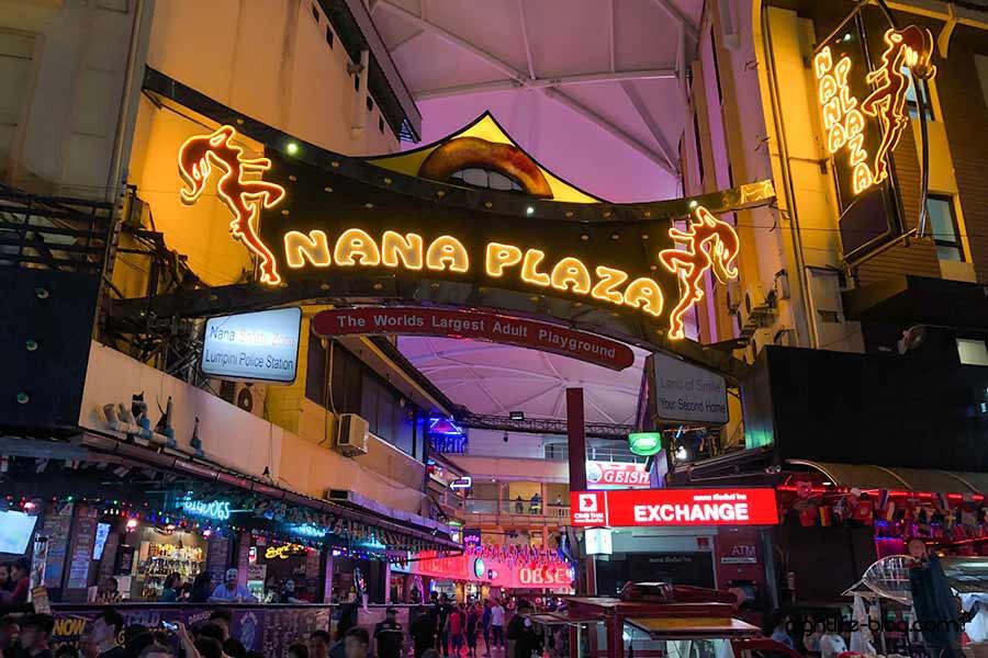 Bangkok Nightlife: Vergnügungs und Rotlichtviertel