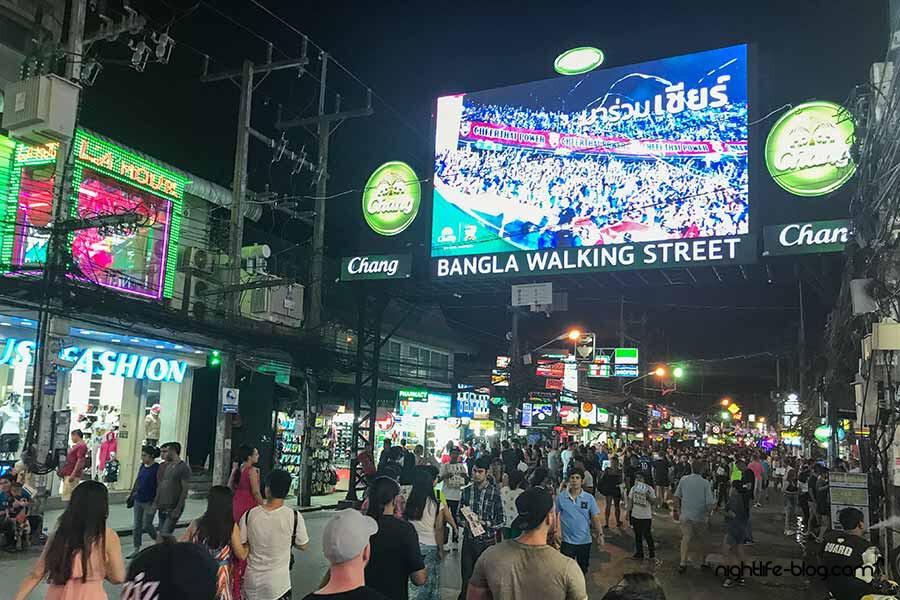 Phuket Nightlife Bangla Road