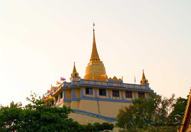 Wat Saket Tempel des Goldenen Berges